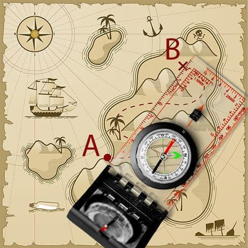 Align Compass On Map