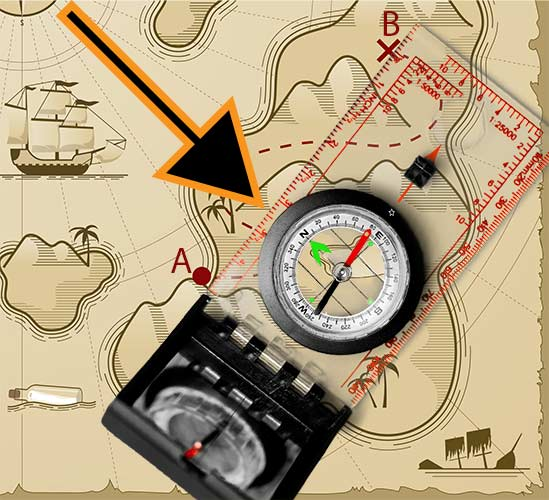 How To Move Compass Dial