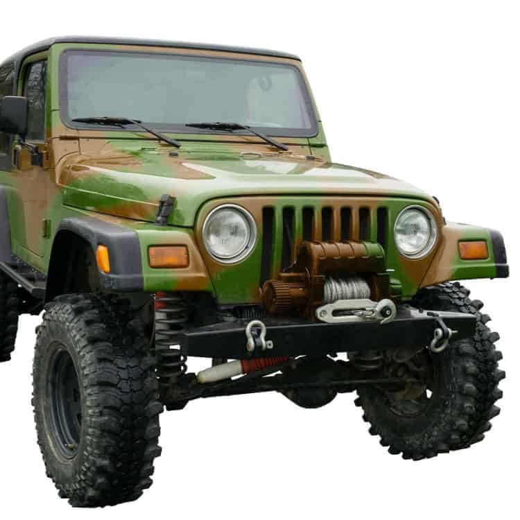 jeep with winch
